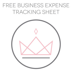 Business Expense Tracking Sheet