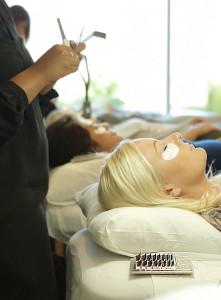 client eyelash extensions