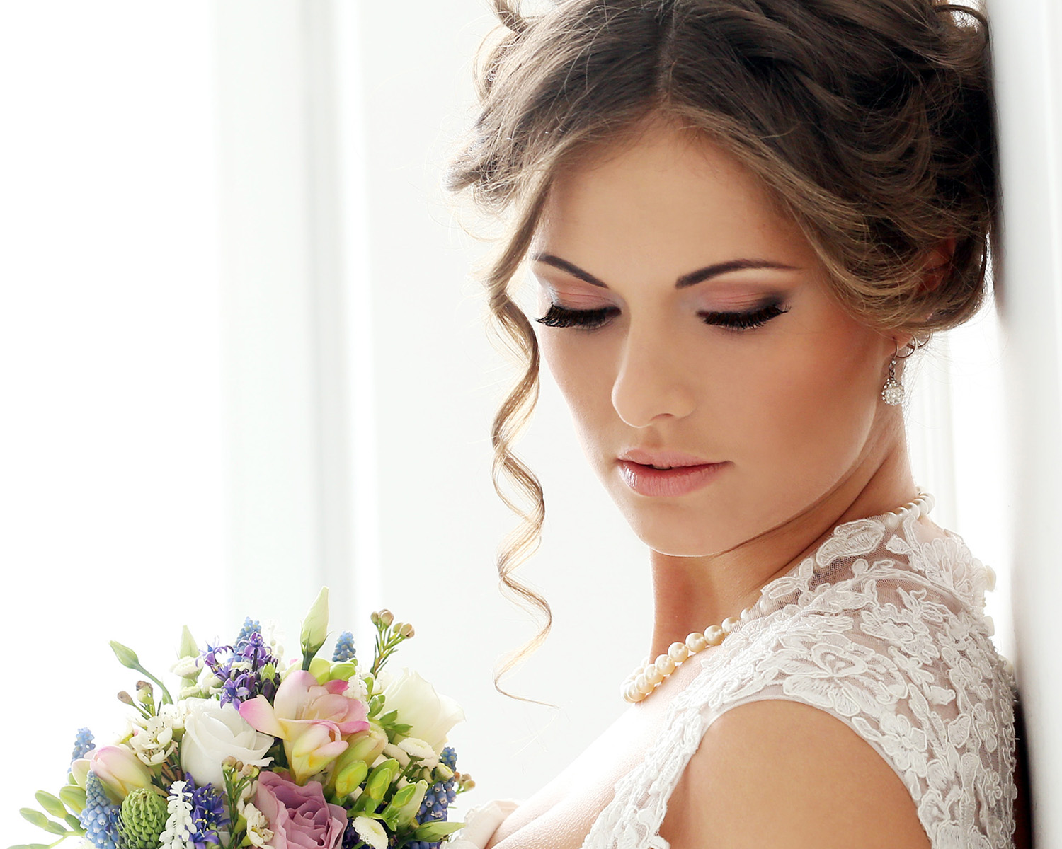 wedding eyelash extensions