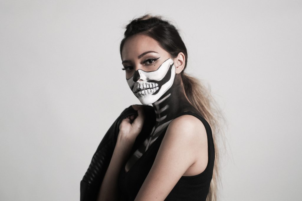 Woman Skull Halloween Costume