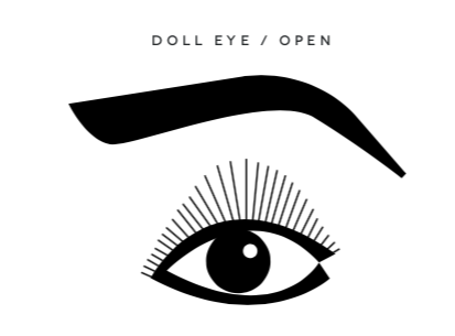 Doll/Open Eye Extensions